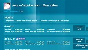 Un client donne son avis, connectez-vous sur la console e-Satisfaction pour le consulter.