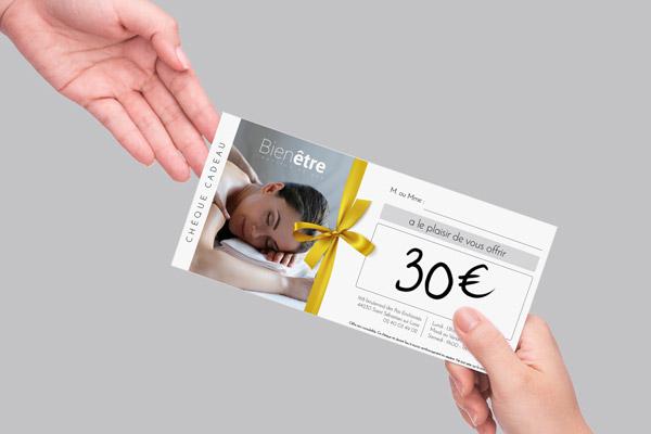 chèque cadeaux avec caisse certifiée Shortcuts