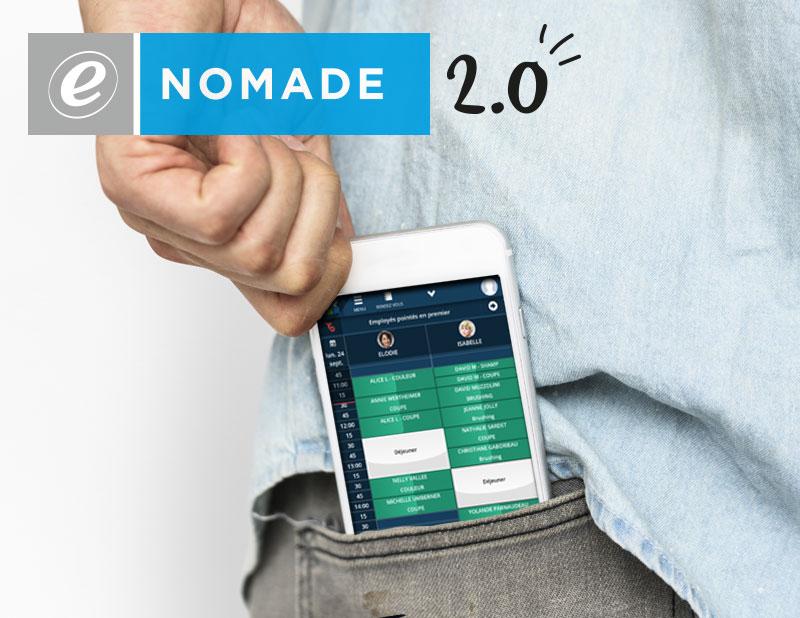 e-Nomade, accédez à votre agenda Shortcuts où que vous soyez