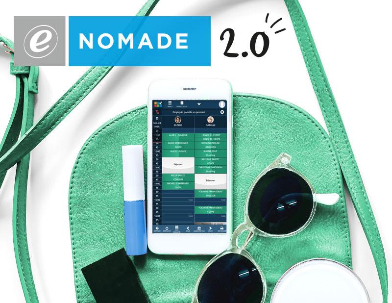 Avec e-Nomade, consultez votre agenda Shortcuts où que vosu soyez !