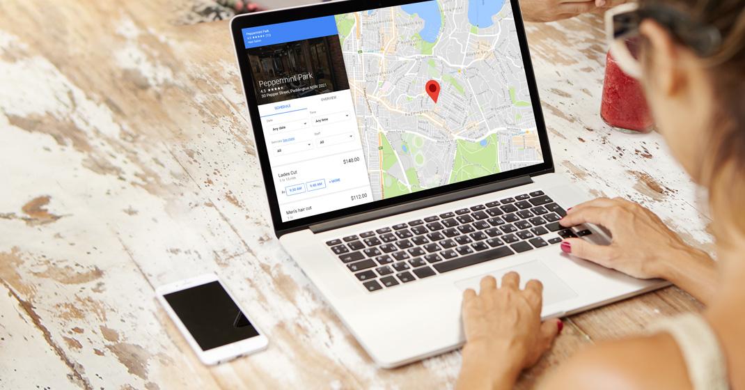 Un rendez-vous réservé avec Google Reserve