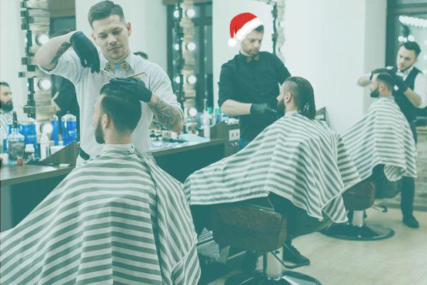 le rush de Noël dans les salons de coiffure