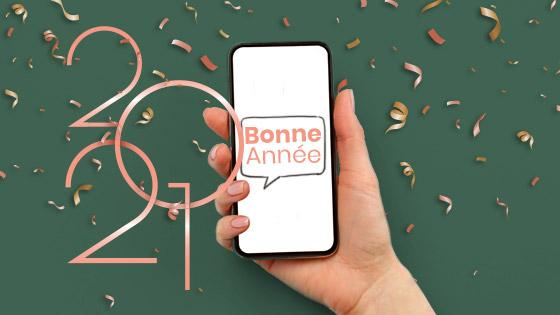 Souhaitez les voeux par SMS et renouez avec votre clientèle