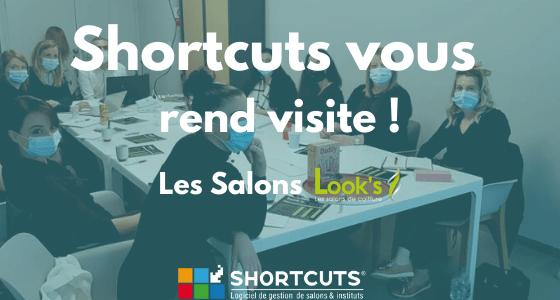 salons looks avec shortcuts